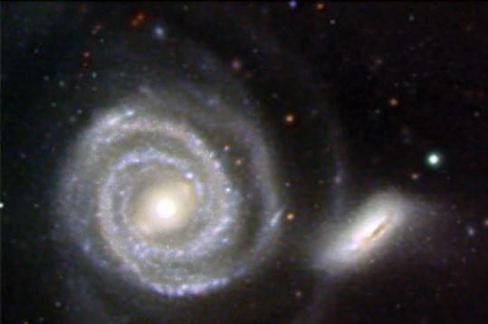 Peculiar galaxies arp