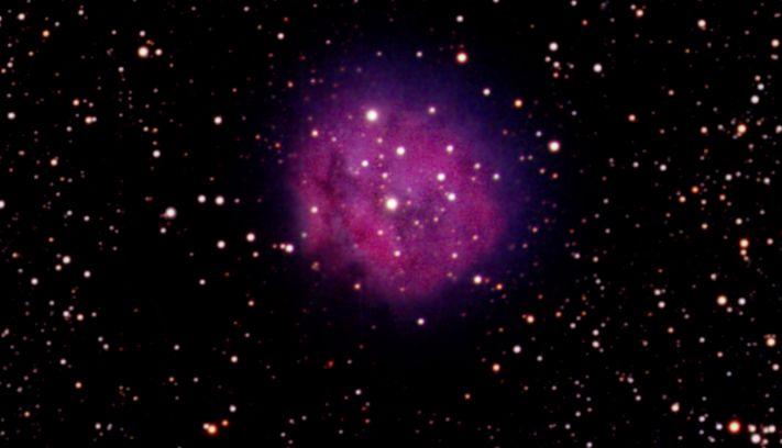 through a small telescope nebula m27 - photo #4