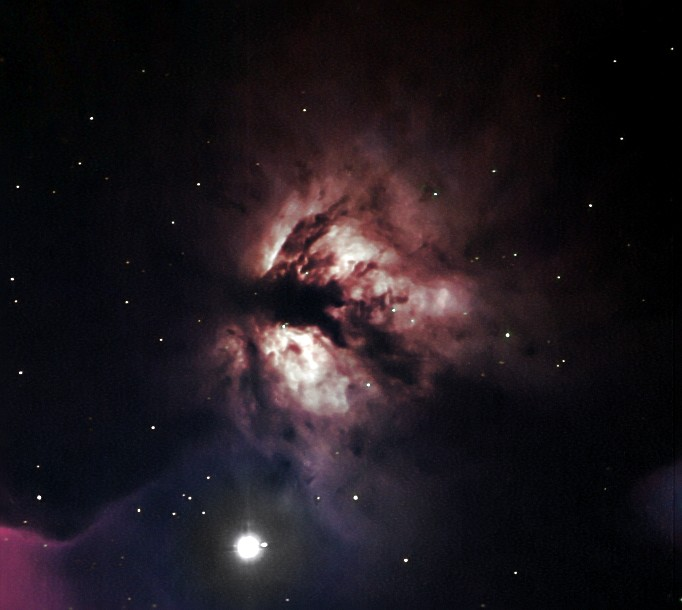 The Flame Nebula